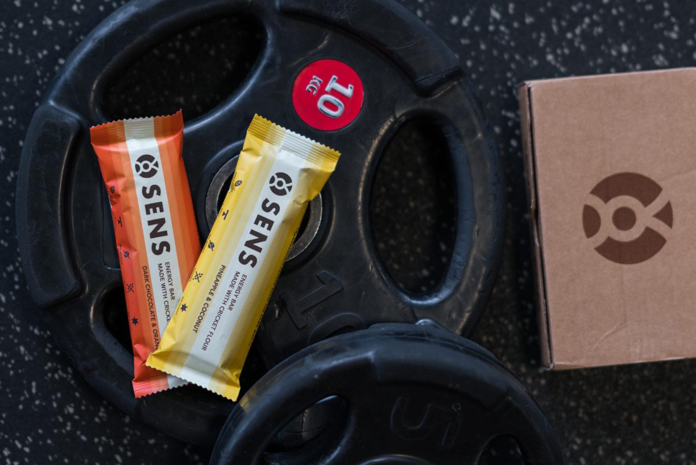 SENSBAR – Protein- und Energieriegel mit Grillenmehl